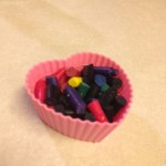 Melted Crayon Heart Valentine for Kids- DIY
