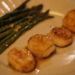 Succulent Pan-Seared Scallops