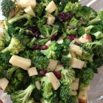 Skinny Broccoli Apple Salad