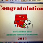 Best in Show decorated house award 2013 printable