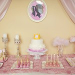 Gwyn's Pink and Gold Princess Birthday Party- Part 1