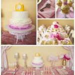 Gwyn's Pink and Gold Princess Party Has Been Featured!