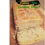 Lemon-lime Zucchini Bread