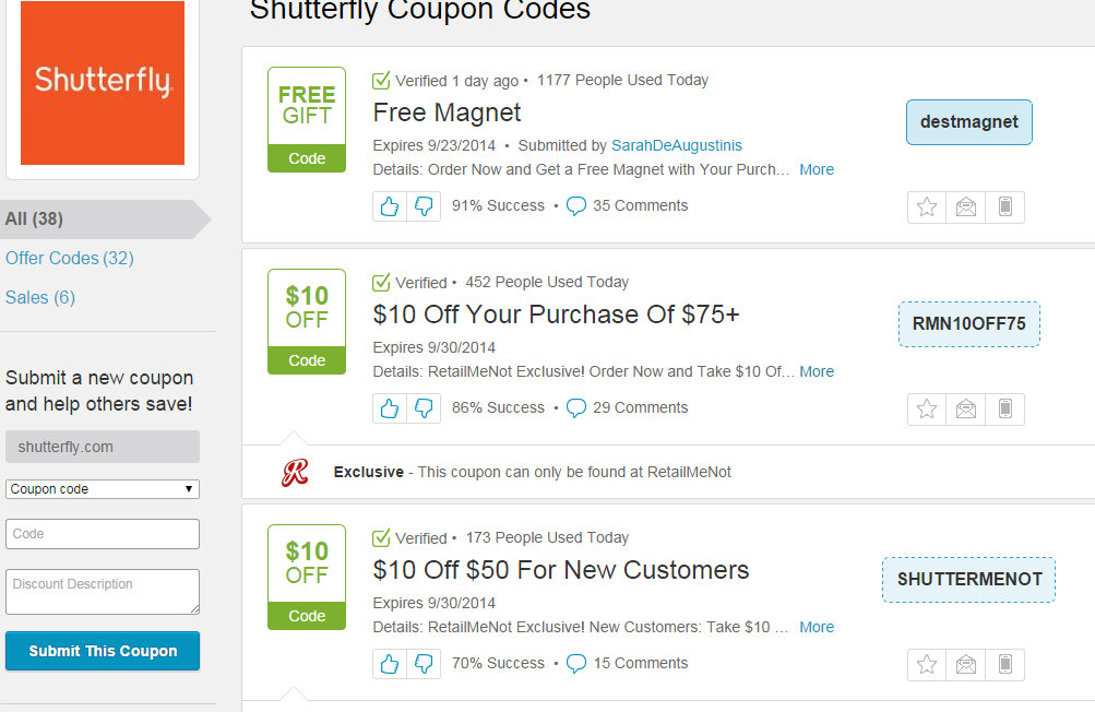 Shutterfly free shipping coupon codes