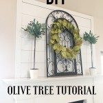 DIY Faux Olive Tree Tutorial
