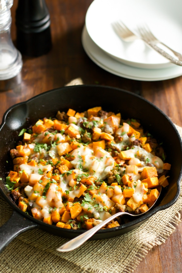 Ground-Turkey-Sweet-Potato-Skillet-4