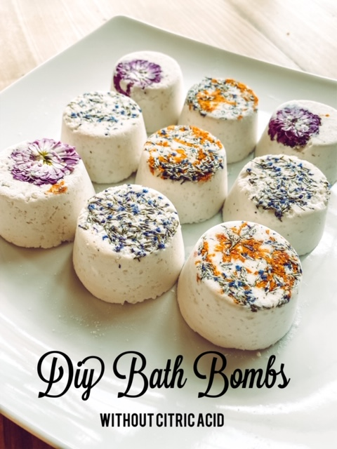 Diy Bath Bombs Without Citric Acid Living With Lady